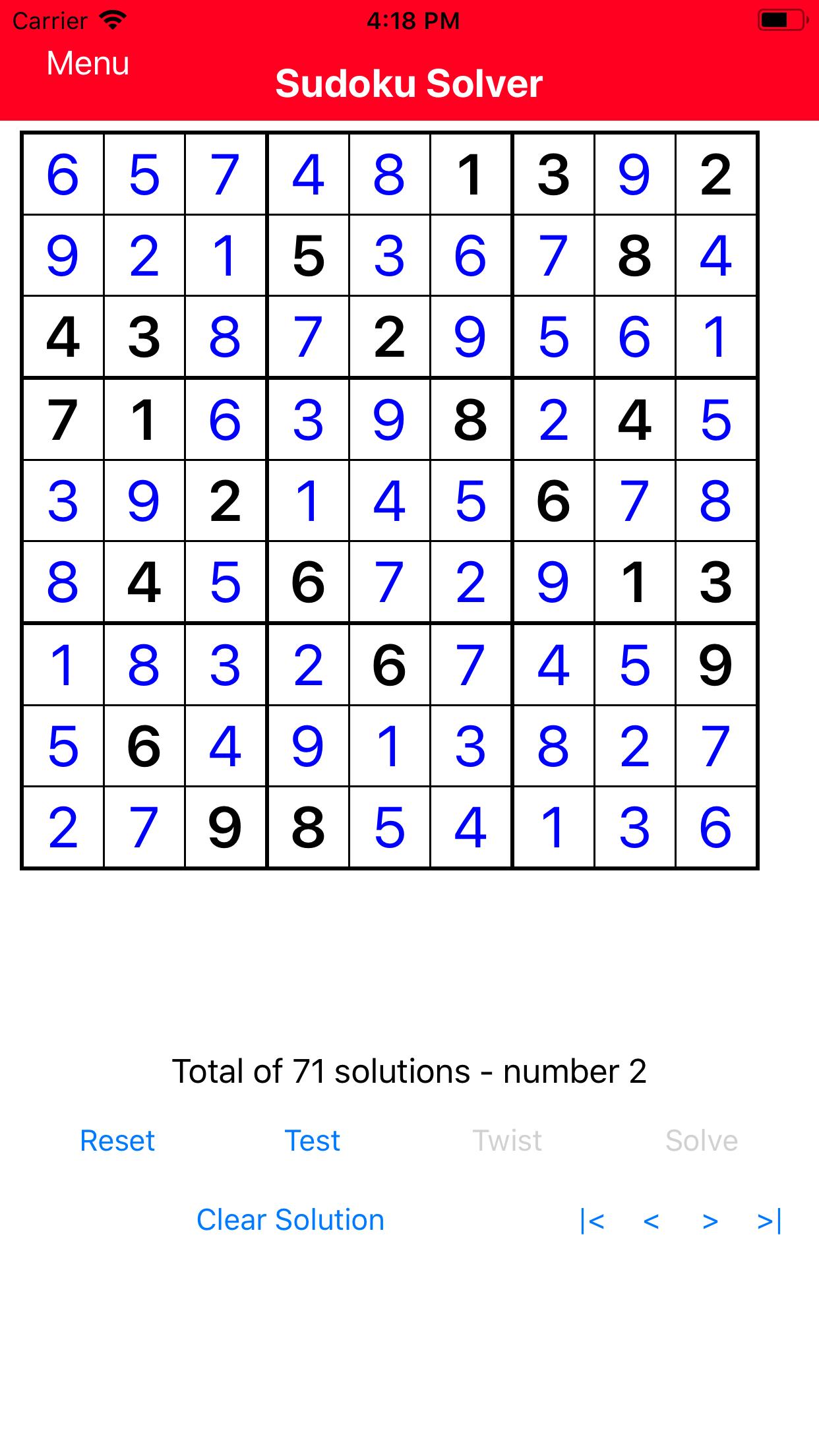 SudokuSolverVersion2Screenshot3